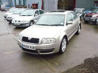 Skoda Superb Elegance V6 TDi (beigebuff) 2004