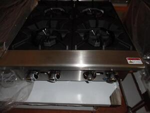 4 Burner Hot Pate Brand New Natural Gas or Propane Atosa