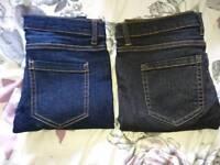 New ladies jeans size 8
