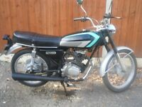 honda cg 125-k1 cg125 125cc ,classic, ideal cafe racer, fully serviced, 12 months mot,many new parts