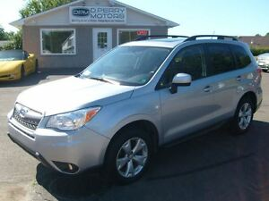 2015 Subaru Forester 2.5i Touring Panoramic Roof Auto Loaded AWD