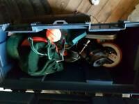 Box of fishing stuff