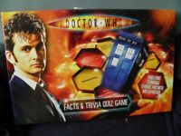 Dr Who Quiz Game