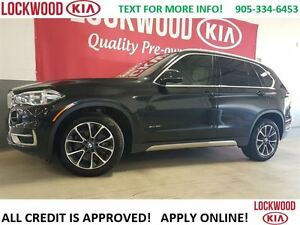 2015 BMW X5 xDrive35i HEADS UP DISPLAY, NAVIGATION, SUNROOF