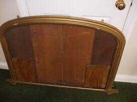 Old wooden frame ideal for renovating