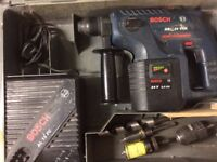 Bosch Cordless Drill (GBH24VRE) SDS