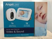 Brand New Angelcare Video and Sound Baby Monitor AC310