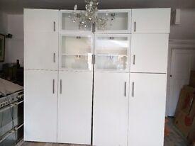 IKEA display unit/ cupboard