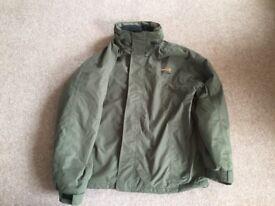 Airflo TF gear waterproof fishing/ outdoor 3/4 length jacket x/l