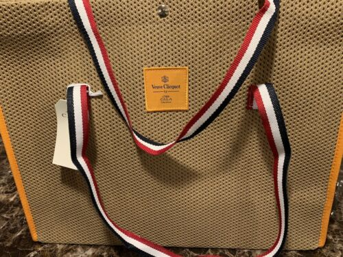 Authentic Veuve Clicquot VCP CALA BEACH BAG RARE BRAND NEW IMPOSSIBLE TO FIND