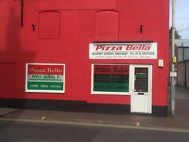 PIZZA TAKEAWAY AND DELIVERY SHOP, FOR RELUCTANT SALE