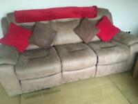 3 + 2 suite with electric recliners