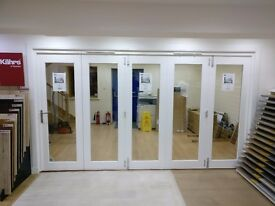 3.6m wide External Folding Sliding Patio Door