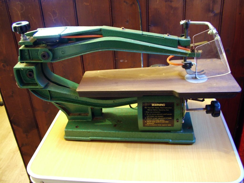 Nu Tool 240 Volt 18 Inch Electric Scroll Saw Model Number