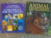 The Usborne Internet Linked Children's Encyclopedia and Animal Encyclopedia