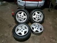 "Ford 14"" alloys"