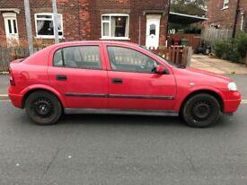 Vauxhall astra 1400cc - 16v, Low mileage 49,000, M.O.T 17/03/2018 ford suzuki honda seat kia toyota