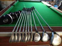 Ladies Calloway Strata Graphite Golf Club Set (10 clubs + Headcovers)