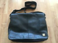 Knomo Kobe 15in Premium Leather Laptop Bag