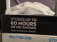 2x Sky+HD boxes