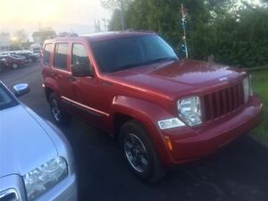 2008 Jeep Liberty FINANCEMENT MAISON DISPONIBLE