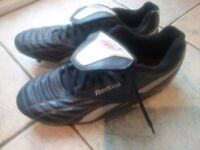 Midnight Blue Reebok Football Boots. Size 9.