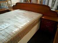 Headboard and 2 bedside cabinet #32221 #32222 £90