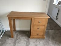 Dressing Table, Bedside Cabinet, Stool and Mirror