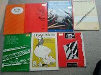 20 X FLUTE MUSIC BOOKS