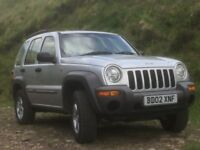 JEEP CHEROKEE 3.7 SPORT AUTO FOR SALE. 4 NEW TYRES NEW EXHAUST JEEP TOWBAR UNUSED. MOT 28,12.17.