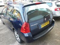 Peugeot 307 1.6 hdi estate 2007 - reliable car in good condition