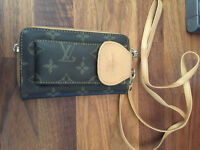Louis Vuitton purse with phone compartment