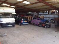 Storage / Garage space