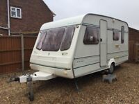 1995 Compass (5 Berth Family Caravan) With Motor Mover Excellent Condition All Round,