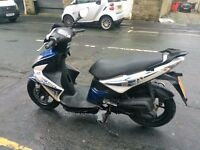 BIKE FOR SALE KYMCO SUPER 8 50*********LOTS OF NEW PARTS *********