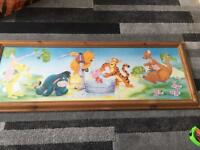 Winnie the Pooh and friends picture in frame