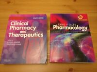 Rang And Dales Pharmacology + Clinical Pharmacy and Therapeutics - Pharmacy Textbooks