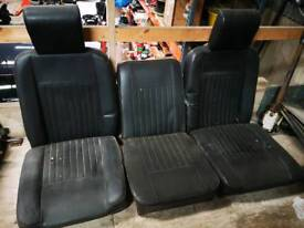 Land Rover Series deluxe front seats