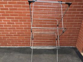 Minky 3 tier airer, silver
