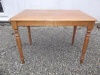 Pine Dining Table / Desk