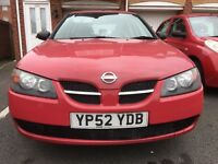 Nissan Almera S Manual Petrol, 9 Months MOT, Service History, HPI clear. Drives Good