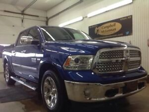 2015 Ram 1500 Laramie | Power Sunroof | Ventilated Front Seats |