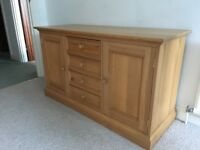 Pine sideboard in excellent condition for a great price
