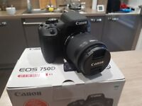 CANON EOS 750D DSLR Camera with EF-S 18-55 mm f/3.5-5.6 IS STM Lens