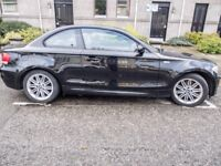 BMW 1 Series Coupe, 123d, M Sport Trim, Leather Seats, Full Service History