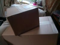 Cardboard boxes (storage or packing) £1 each