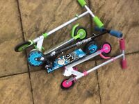 3 x No Fear Scooters £5 each or all 3 for £12
