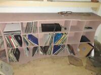 DJ Deck Stand, Bespoke 2450mm wide 460mm Deep 1060mm High. Need gone asap open to offers