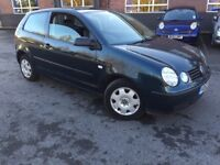 2003 VOLKSWAGEN POLO 1.2 WITH MOT - QUICK SALE £599