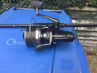 3 x shimano long cast bait runner with spare spools good condition